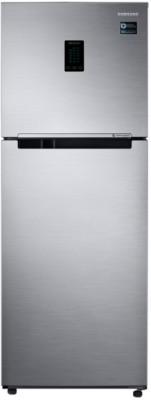 Samsung 324 L Frost Free Double Door 3 Star Refrigerator(Elegant Inox, RT34M5538S8/HL)