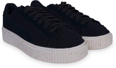 Puma Basket Platform OW Wn s Sneakers For Women(Black)