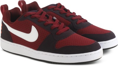 Nike COURT BOROUGH LOW Sneakers For Men(Red) 1