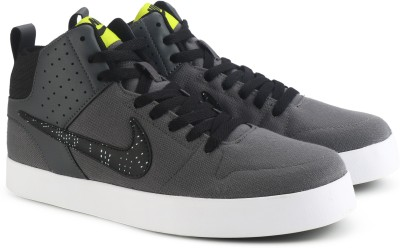 Nike LITEFORCE III MID Sneakers For Men(Grey, Black)