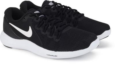 Nike LUNAR APPARENT Running Shoes For Men(Black) 1