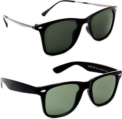 bb18183b57 64% OFF on TheWhoop Wayfarer Sunglasses(Green)