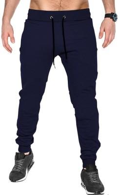 Vimal Jonney Ultra Solid Men Black Track Pants