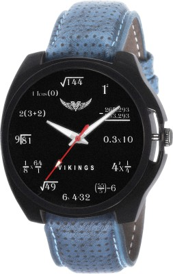 View VIKINGS GENTS VK-GR-127-BLK-BLU FORMULA Watch  - For Boys  Price Online
