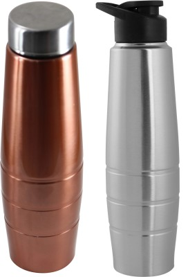 e0eb307ca0 Zafos Duro Stainless Steel Sipper Water Bottle -Ideal to store water and  other beverages-