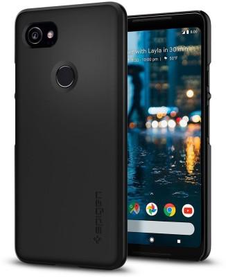 MTT Back Cover for Google Pixel 2 XL(Black, Shock Proof, Plastic)