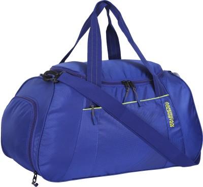 American Tourister  Expandable  Dunk Travel Duffel Bag Blue