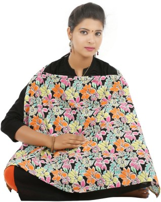 Brother Baby Flowe Feeding Cloak(Multicolor)  available at flipkart for Rs.366