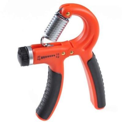 Leosportz Hand Gripper For Best Hand Exerciser Grip Adjustable 10kg to 40kg Hand Grip/Fitness Grip Orange Leosportz Hand Grips
