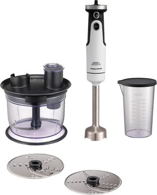 Morphy Richards Total Control Workcentre 650 W Chopper, Hand Blender(White)