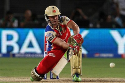 AB De Villiers RCB Vinyl Poster (Vinyl Paper Print, 18x24 inch) Paper Print(18 inch X 24 inch, Rolled)  available at flipkart for Rs.400