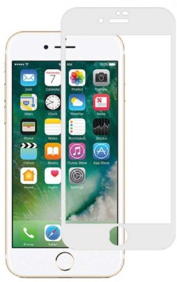 Maxpro Edge To Edge Tempered Glass for 5D Tempered Glass Apple iphone 8 Plus White