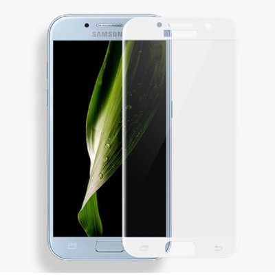 Maxpro Edge To Edge Tempered Glass for 5D Tempered Glass Samsung Galaxy J7 Max White(Pack of 1)