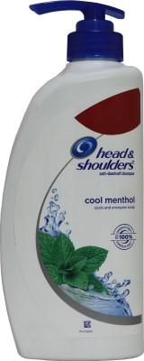 Head & Shoulders Anti Dandruff Cool Menthol Shampoo, 675 ML