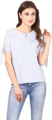 Vostro Moda Casual 3/4th Sleeve Striped Women