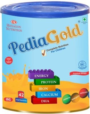 PEDIA GOLD Pediagold Mango 200 Gm Unflavored Powder(200 g)