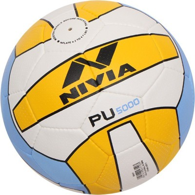 Nivia PU-5000 Volleyball -   Size: 4(Pack of 1, Multicolor)  available at flipkart for Rs.699