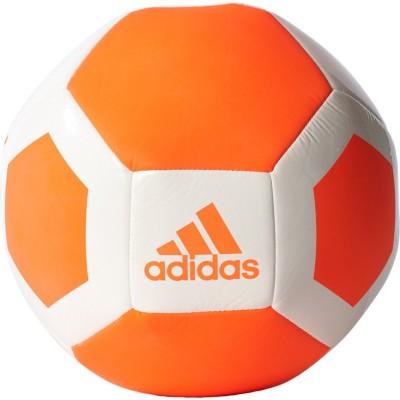 ADIDAS Glider ii Football - Size: 5(Pack of 1, White, Orange)