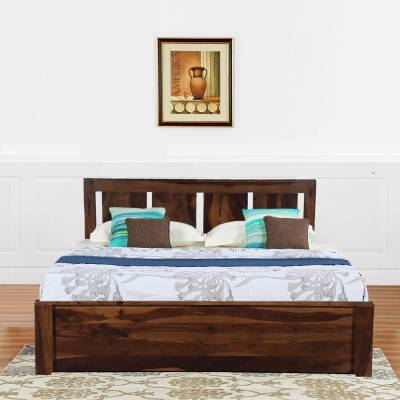 Solid Wood Bedroom Furniture - Upto 50% Off Beds, Wardrobes & More