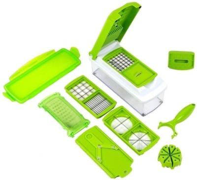 FStyler 7 In 1 Nicer Dicer Plus Vegetable Chopper Chopper(Green)  available at flipkart for Rs.520