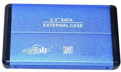 Adnet Blue (external usb 3.0 casing for 2.5 sata laptop hard disk) 2.5 External Hard disk Enclosure(For External Hardisk, Blue)