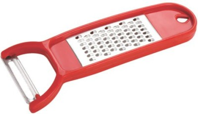 FStyler 2 In 1 Grater & Peeler with Stainless Steel Blade For Vegetable Peeler Y Shaped Peeler Set(Multicolor)  available at flipkart for Rs.199