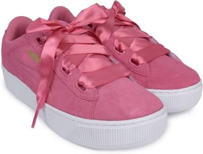 Puma Puma Vikky Platform Ribbon Sneakers For Women