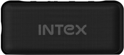 Intex B5 3 W Bluetooth  Speaker(Black, Stereo Channel)