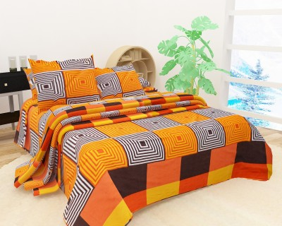 DOUBLE QUEEN KING 3 Pce Choula Black White Geometric Quilt Cover Set by Phase 2