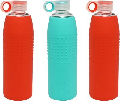 IZIZI izizi1LB1-Com2 1000 ml Bottle(Pack of 2, Green, Yellow)