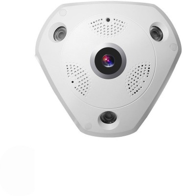 View IPAK VRCAM-PANRIC 3.6mm IP Camera Camera(White) Camera Price Online(IPAK)