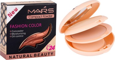 Mars 2in1 Fashion color Compact Powder Compact  - 26 g(Beige)  available at flipkart for Rs.199