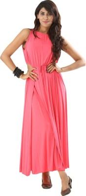 Fascinating Women Maxi Pink Dress