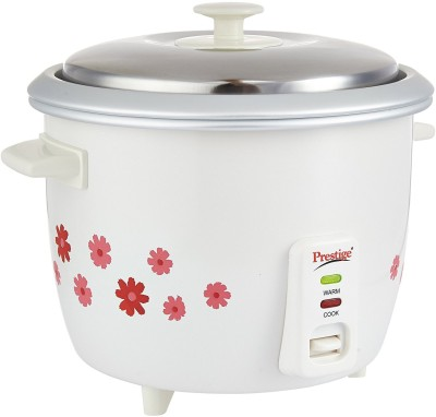 Prestige PRWO 1.8-2 Electric Rice Cooker with Steaming Feature(1.8, Multicolor)