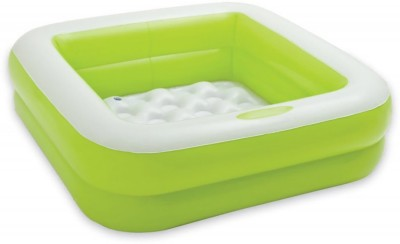 Kiditos Inflatable Play Box kids Pool Inflatable Pool(Green)