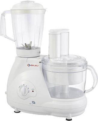 Bajaj Fx11 600 W Juicer Mixer Grinder(White, 3 Jars)
