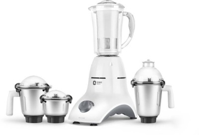 Orient Electric MGAC75G4 Accord 750 W Mixer Grinder(White, 4 Jars)