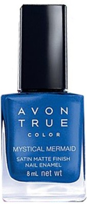 Avon Anew Satin Matte Finish Nail Enamel, 8 ML Mystical Mermaid