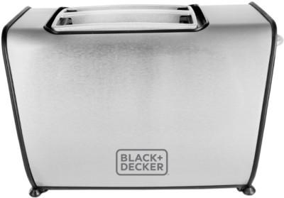 Black & Decker BXTO0203IN 870 W Pop Up Toaster(Grey)