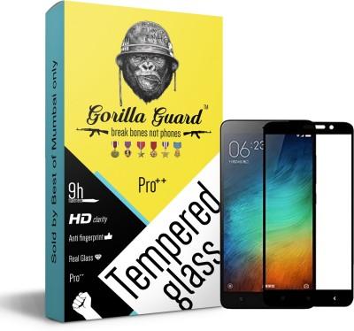 Gorilla guard Impossible Screen Guard for Mi Redmi Note 4(Pack of 1)