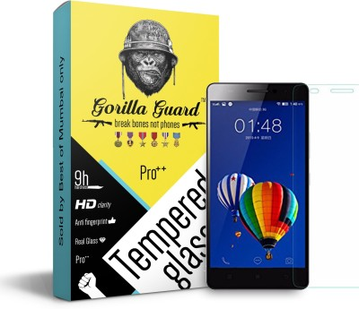 Gorilla Guard Tempered Glass Guard for Lenovo K3 Note(Pack of 1)
