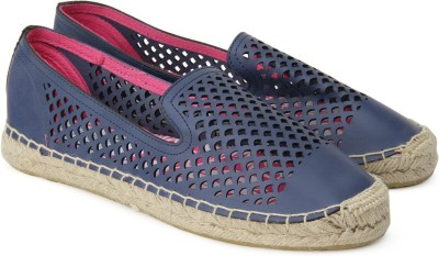 Superdry CELIA SLIP ON ESPADRILLE Espadrilles For Women(Blue)