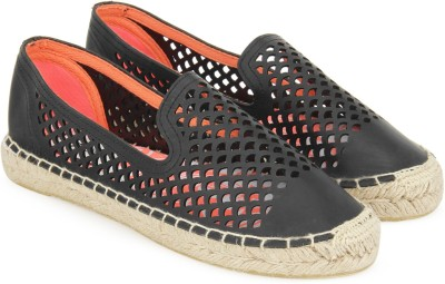 Superdry CELIA SLIP ON ESPADRILLE Espadrilles For Women(Black)