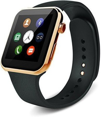 SYL Presenting Bluetooth Smartwatch with Sim- Card Support Compatible with Lav.a Gold Smartwatch(Brown Strap Free Size)