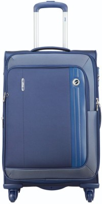 VIP Unicorn X 4W Exp Strolly Expandable  Cabin Luggage - 22 inch(Blue)