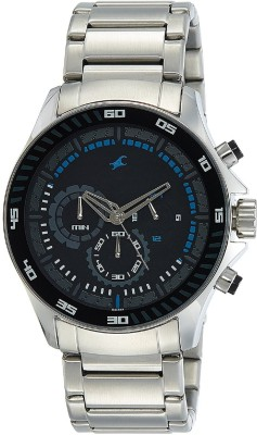 Fastrack 3072SM03 Chronograph Analog Watch For Men