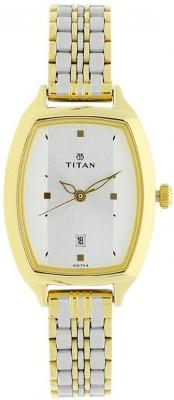 Titan 2571bm01  Analog Watch For Women