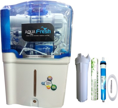 Aqua Fresh Aqua model 12 L RO + UV + UF + TDS Water Purifier(Whiite)
