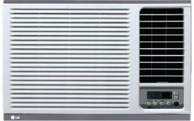 LG 1 Ton 3 Star BEE Rating 2018 Window AC  - White(LWA12GPXA, Copper Condenser)