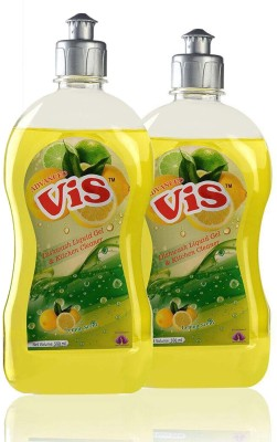 shahi fusion world vis dishwash detergent for gel liquid Dish Cleaning Gel(lemon, 500 ml)